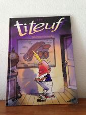 Ed. GLENAT    EO  TITEUF N° 1   rare édition originale