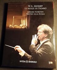 W. A. Mozart  Le nozze di Figaro  Gerard Korsten Teatro Alla Scala DVD + CD
