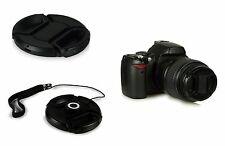 TAPPO 49MM OBIETTIVO macchina fotografica UNIVERSALE per Canon Nikon Sony