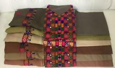 Ajrak, Balochi Sindhi Phulkari Pakistani Indian Hand made embroidery traditional