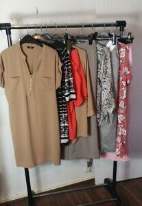 Womens Ladies Clothes Bundle Size 14 Midi Skirt Dress Blouse Shirt Top Pants N5