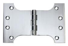 Chrome Plate Parliament Hinge. 100x150x4mm.  HDLTH2682