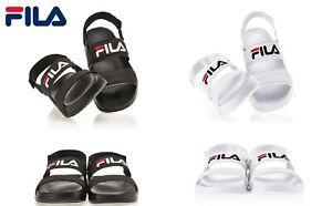 FILA NEW DRIFTER JACKED UP SD Fashion Sandal,Slipper Black or White Women