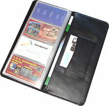 Business Card Holder, 96 Cards Capacity, 1 Personal Cards Pocket, New