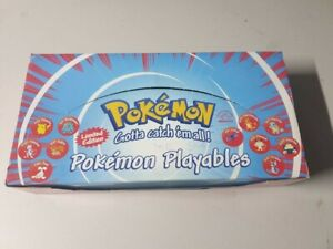 Pokemon Playables Display Box In Store Exclusive Promotional Promo Pokeballs
