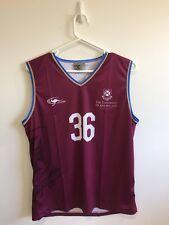 University of Queensland Team UQ Basketball Singlet