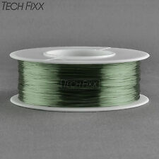 Magnet Wire 32 Gauge AWG Enameled Copper 1230 Feet Coil Winding 155°C Green