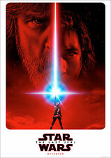 The Last Jedi Poster Star Wars Teaser Coming New Dec 17 FREE P+P A1 3x2ft approx