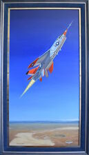 Super Crusader - Original Oil on Canvas - by Mike Machat - XF8U-3 Crusader III