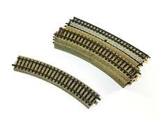 Märklin Schienen/Gleise - 10 Stück 5100 1/1 gebogene Gleise Spur H0