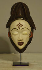 African Mask Gabon African Punu Female Mask