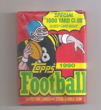 1 Topps 1990 Football Wax Pack 15 cards/pack Rookie Aikman? Sealed Mint
