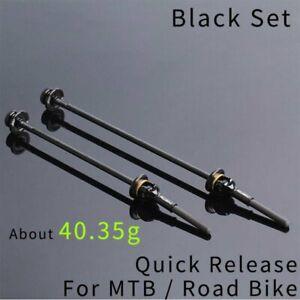 40.35g Titanium Alloy Bicycle QR Skewer Lever Road Bike Wheel Hub Ultralight