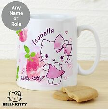 Personalised Hello Kitty Pink Blush Mug - Free Delivery
