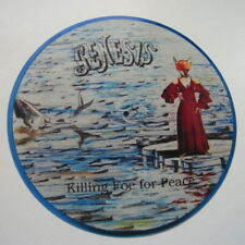 "GENESIS KILLING FOE FOR PEACE  VINYL STICKER  100MM ROUND 4""  buy 2 get 1 free"