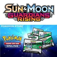 10 Guardians Rising Codes Pokemon Sun & Moon TCG Online Booster EMAILED FAST!