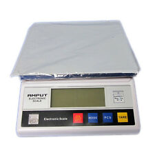 Digital LCD Accurate Balance Counter Table Top Scale Industrial Scaler 10KG 0.1G