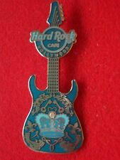 HRC Hard Rock Cafe Hollywood Blue Rock Couture Guitar 2008 LE300