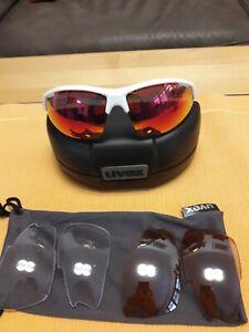 UVEX, Sportsonnenbrille mit Wechselgläsern