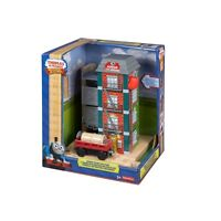 FISHER PRICE THOMAS & FRIENDS Y4498 RAILWAY SODOR PAINT FACTORY NEU OVP