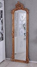 Barockspiegel Spiegel Antik Gold Wandspiegel Barock Hallenspiegel XXL 180x55 NEU