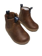 Toddler Boys Brown Boot Size 4 Cat And Jack Berkley