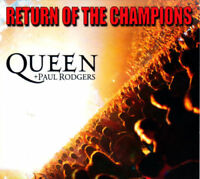 Queen + Paul Rodgers ~ Return of the Champions NEW 2CD ** HITS AND MORE LIVE **