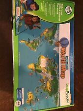 Leap Frog Tag reading system, interactive world map. New