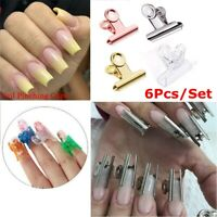 Steel Nail Extension Pinchers Manicure Tool Rusian C Curve Nail Pinching Clips