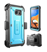 Galaxy S7 Active SUPCASE Unicorn Beetle Pro Rugged Holster Blue Case
