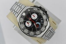 Tag Heuer CAC1110.BA0850 Formula 1 One Black Chronograph Watch Mens Mint Crystal