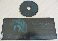 CD MAXI SINGLE 2 TITRES SKYFALL FILM JAMES BOND 007 ADELE 2012