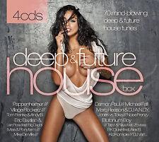 CD Deep & Future House Box von Various Artists 4CDs