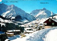 Wintersportplatz Jirschegg , Kleines Walsertal , Ansichtskarte