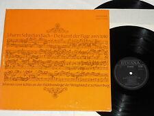 JOHANNES-ERNST KOHLER-Johann Sebastian Bach (1977) ETERNA German Pressing 2-LP
