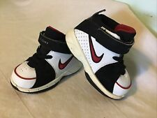 Nike  Little Flight Unity Shoes  Toddler Size 5 C  White Black Red  314625-161