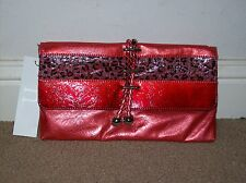 Nicole Lee-Evening Bag (Red).