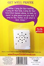 Inspirational 'Get Well Prayer' Spiritual Sound Module for Stuffed Toys New