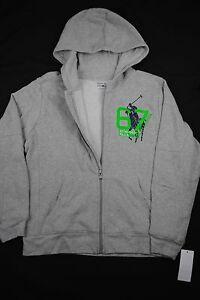 NEW RALPH LAUREN KIDS BOY Active Fleece Big Pony Hoodie Zip Sweatshirt Jacket XL