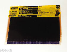 Microfich Ersatzteilkatalog Mazda 323 Kombi Modelle 1987 - 1990 Stand 04/1991