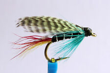 1x Mouche peche Noyee Silver Doctor H10/12/14 truite wet fly trout fishing mosca