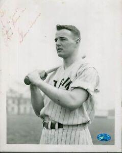 Glenn Davis 50`s Signed 8x10 Photo Psadna Autograph