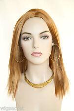 Ginger Red Medium Skin Top Straight Wigs