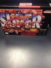 Street Fighter II (Super Nintendo SNES)