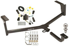 2013-2017 FORD FUSION COMPLETE TRAILER HITCH PACKAGE W/ QUICK CONNECT WIRING NEW