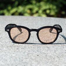 Retro Vintage Johnny Depp sunglasses men black frame purple blue green red  lens