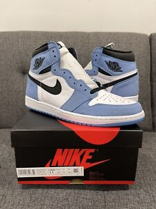 Nike Air Jordan 1 Retro High OG University Blue 555088-134 Size 11 SHIPS TODAY