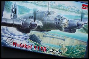 Roden 1:72 Heinkel He111B Pedro Model Kit