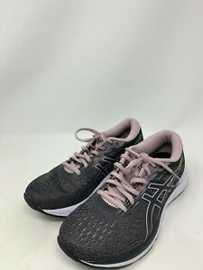 SEE NOTES Asics Women's GEL-Excite 7 Running Shoes, Black/Purple, Size 7.5B