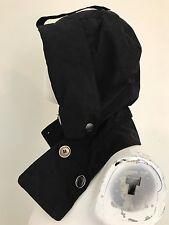 Women's Burberry Black Nylon HOOD ONLY Brit For Women's Jacket Coat Trench